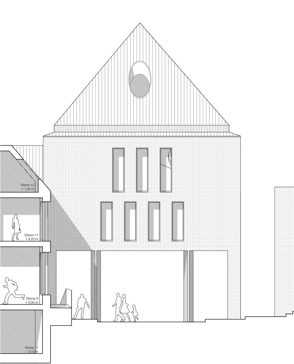 neubau petritor rostock stadteingang sl terstra e. Black Bedroom Furniture Sets. Home Design Ideas