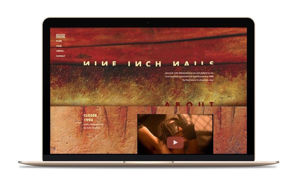 Nine Inch Nails Site - Liad Shadmi